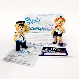 Miles & Dolly - Club Membership Bear 2013/2014