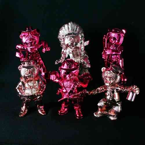 Macho Bears - Pink Set - Limited Edition